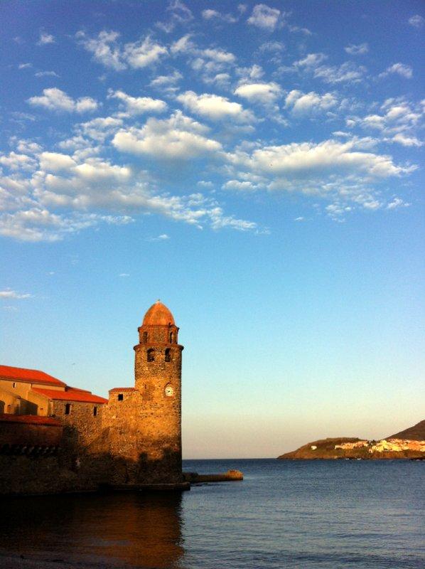 Le clocher du port de Collioure