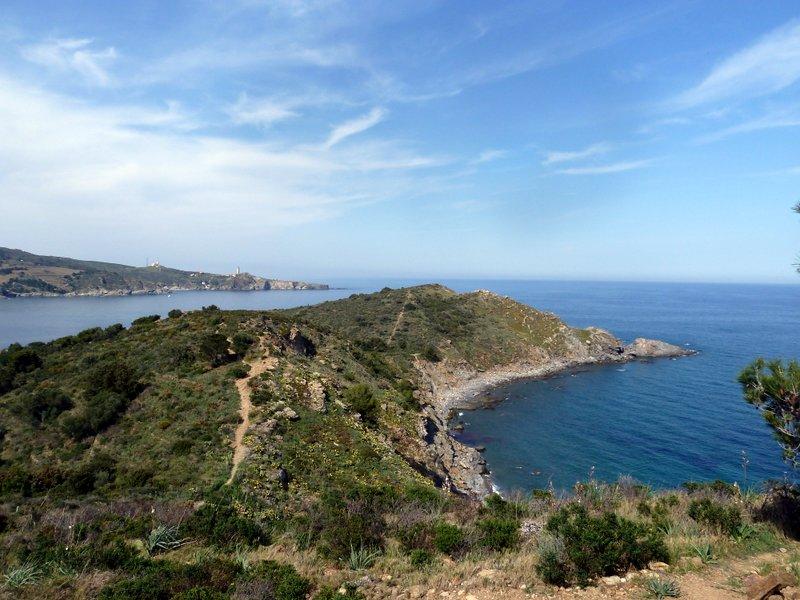 Sentier du littoral vers Collioure