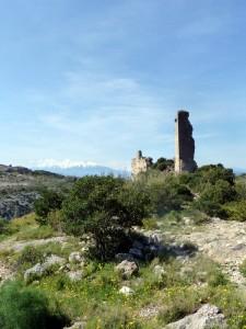 Château au-dessus de Tautavel
