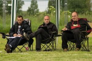 Les juges, Sven Van Driessche, Adrian Stoica et Stefaan Timmermans