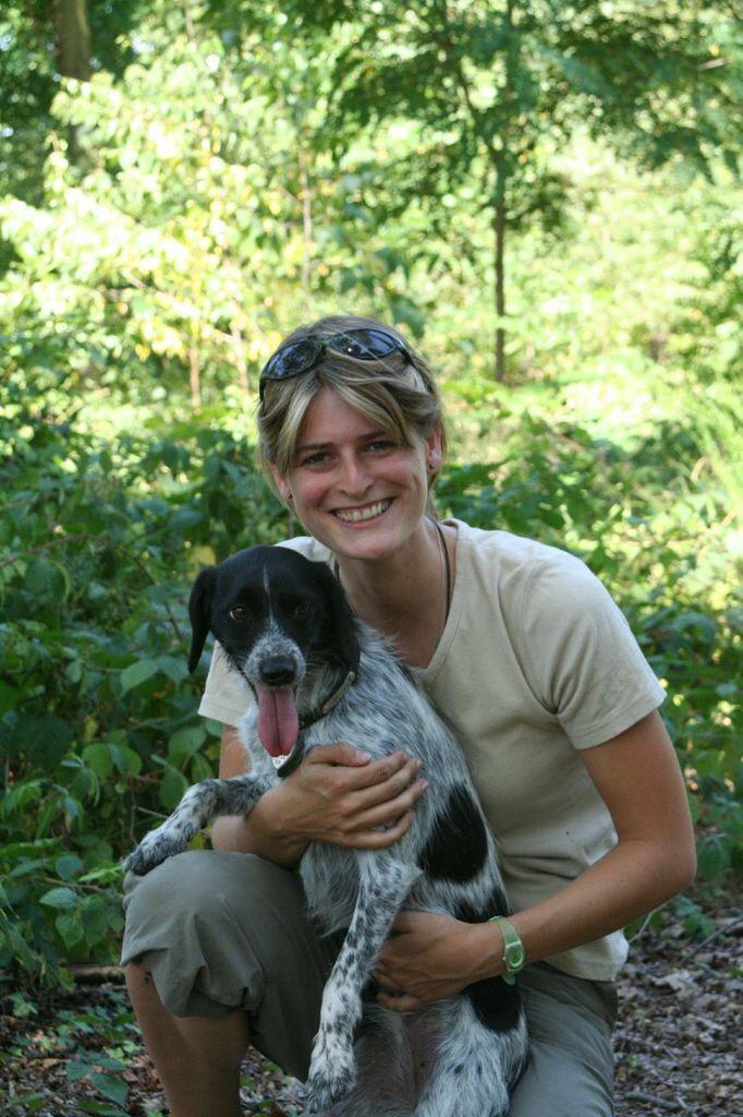 Pampa et moi, la premiere annee en tant qu'educateur canin