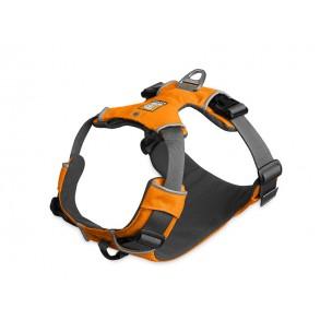 Ce harnais ultra-polyvalent a l'avantage de ne pas coincer les épaules tout en possédant une attache anti-traction à l'avant, pour l'apprentissage de la marche en laisse.